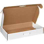 "Corrugated Carrying Cases 20"" x 11-3/8"" x 5-1/2"" - 10 Pack"