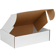 """White Deluxe Literature Mailer 13"""" x 10"""" x 4"""" - 50 Pack"""
