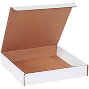 """Literature Mailers 11"""" x 11"""" x 2"""" 200lb. Test/ECT-32 White 50 Pack"""
