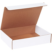 "Literature Mailers 13"" x 10"" x 3"" 200lb. Test/ECT-32 White 50 Pack"