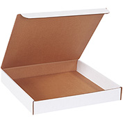 "Literature Mailers 13"" x 13"" x 2"" 200lb. Test/ECT-32 White 50 Pack"