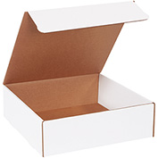 "Literature Mailers 13"" x 13"" x 4"" 200lb. Test/ECT-32 White 50 Pack"