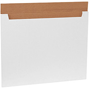 "Jumbo Fold-Over Mailers 28"" x 21"" x 1/4"", 200 lb. Test/ECT-21-B White - 20 Pack"