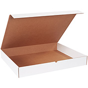 """Literature Mailers 30"""" x 24"""" x 4"""", 200 lb. Test/ECT-32-B White - 25 Pack"""