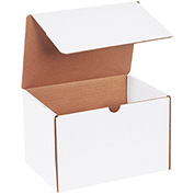 "White Literature Mailers 9"" x 6-1/2"" x 6"" 200Lb. Test/ECT-32-B - 50 Pack"