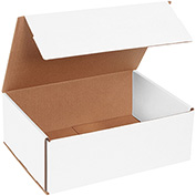 """Corrugated Mailers 11"""" x 8"""" x 4"""", 200 lb. Test/ECT-32-B White - 50 Pack"""