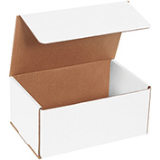 "White Corrugated Mailer 9"" x 6"" x 4"" - 50 Pack"