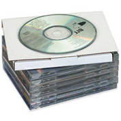 """CD Mailers 5-5/8"""" x 5"""" x 7/16"""" - 50 Pack"""