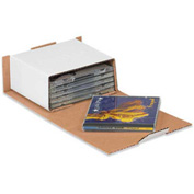 """CD Mailers 5-5/8"""" x 5"""" x 2 9/16"""" - 50 Pack"""