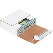 "Self-Seal CD Mailers 5-3/4"" x 5 1/16"" x 1-3/4"" - 200 Pack"