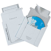 "Foam Lined CD Mailer 5 1/8"" x 5"" - 100 Pack"