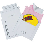 "Tyvek® Lined CD Mailers 5-1/8"" x 5"" - 100 Pack"