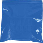 "Reclosable Bags 10"" x 12"" 2 Mil Blue 1000 Pack"