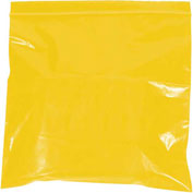 "Reclosable Bags 10"" x 12"" 2 Mil Yellow 1000 Pack"