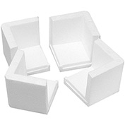 "Foam Corners 3"" x 3"" x 3"" - 1000 Pack"