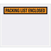 "Orange Document Envelopes  6-1/2"" x 5"" - 1000 Pack"