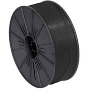 "Plastic Twist Tie Spool 5/32"" x 7000' Black"