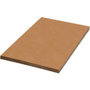 "Kraft Corrugated Sheets 20"" x 12"" - 50 Pack"