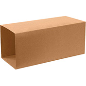 "Telescoping Inner Boxes 18"" x 18"" x 40"", 200 lb. Test/ECT-32 Kraft - 10 Pack"