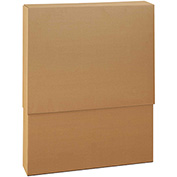 "Double Wall Telescoping Inner Boxes 24"" x 8"" x 57"", 275 lb.Test/DW/ECT-48 Kraft - 5 Pack"