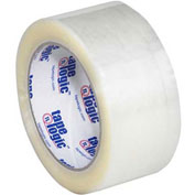 "Carton Sealing Tape 2"" x 55 Yds 3 Mil Clear - 6/PACK"