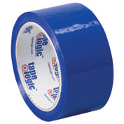 "Carton Sealing Tape 2"" x 55 Yds 2.2 Mil Blue - 18/PACK"