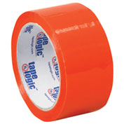 "Carton Sealing Tape 2"" x 55 Yds 2.2 Mil Orange - 6/PACK"