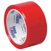"Tape Logic® Carton Sealing Tape 2"" x 55 Yds. 2.2 Mil Red - Pkg Qty 36"