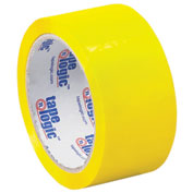 "Carton Sealing Tape 2"" x 55 Yds 2.2 Mil Yellow - Pkg Qty 6"