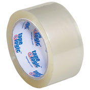 """Carton Sealing Tape 2"""" x 55 Yds 2.6 Mil Clear - 6/PACK"""