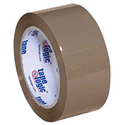 "Tape Logic® #350 Industrial Tape 2"" x 55 Yds. 3.5 Mil  Tan - 6/PACK"