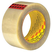"3M™ 351 Carton Sealing Tape 2"" x 55 Yds 3.4 Mil Clear - 6/PACK"