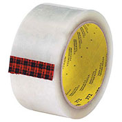 "3M 372 Carton Sealing Tape 2"" x 55 Yds 2.2 Mil Clear  - Pkg Qty 6"