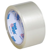 "Tape Logic® #400 Industrial Tape 2"" x 55 Yds. 2 Mil Clear - Pkg Qty 6"