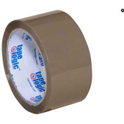 "PVC Natural Rubber Tape  2"" x 55 Yds 2.2 Mil Tan - 6/PACK"