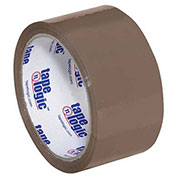 "Tape Logic® #900 PVC Natural Rubber Tape 2"" x 55 Yds. 2.5 Mil Tan - Pkg Qty 6"