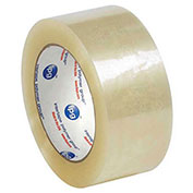 "Whisper Smooth Acrylic Carton Sealing Tape 2"" x 110 Yds 2 Mil Clear - 6/PACK"