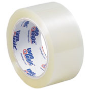 "Carton Sealing Tape 2"" x 110 Yds 1.6 Mil Clear - 6/PACK"