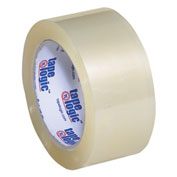 "Carton Sealing Tape 2"" x 110 Yds 1.8 Mil Clear - 6/PACK"