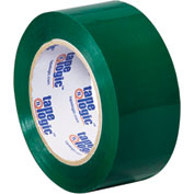 "Carton Sealing Tape 2"" x 110 Yds 2.2 Mil Green - Pkg Qty 6"