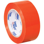 "Carton Sealing Tape 2"" x 110 Yds 2.2 Mil Orange - 18/PACK"