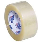 "Carton Sealing Tape 2"" x 110 Yds 2.6 Mil Clear - Pkg Qty 6"