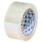 "3M™ 305 Carton Sealing Tape 2"" x 110 Yds 1.8 Mil Clear 6 Pack - 6/PACK"