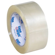 "Carton Sealing Tape 2"" x 110 Yds 2 Mil Clear - 6/PACK"