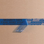 "Security Tape 3"" x 60 Yds 2.5 Mil Blue 1 Pack"