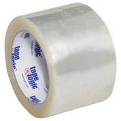 "Carton Sealing Tape 3"" x 55 Yds 3 Mil Clear - 6/PACK"