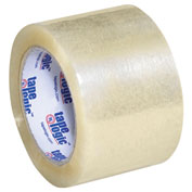 "Carton Sealing Tape 3"" x 110 Yds 1.8 Mil Clear- 6/PACK"