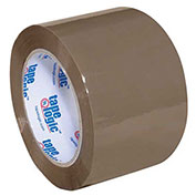 "Tape Logic® #170 Industrial Tape 3"" x 110 Yds. 1.8 Mil Tan - 6/PACK"