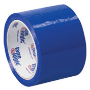 "Tape Logic® Carton Sealing Tape 3"" x 55 Yds. 2.2 Mil Blue - Pkg Qty 6"