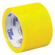 "Tape Logic® Carton Sealing Tape 3"" x 55 Yds. 2.2 Mil Yellow - Pkg Qty 6"